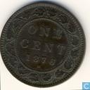 Canada 1 cent 1876 H
