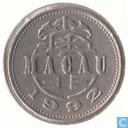Macau 1 pataca 1992