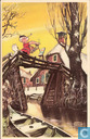 Postcards - Bumble and Tom Puss - SV38.02.a Nieuwjaarskaart Bommel en Tom Poes