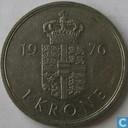 Danemark 1 couronne 1976