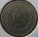 Suriname 10 cent 1971