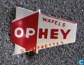 Ophey wafels gauffrettes [rouge]
