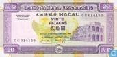 Macao patacas 20