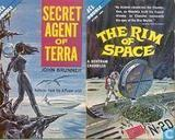 Books - Chandler, A. Bertram - Secret Agent of Terra + The Rim of Space