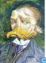 Zelfportret met snavel Van Gogh