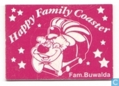 Happy Family Coaster - Buwalda - roze