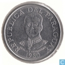 Paraguay 50 guaranies 1980 (staal)