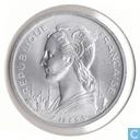 Côte française des Somalis 5 francs 1965