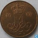 Denemarken 5 øre 1977
