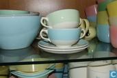 Suppenschüssel mit Unterteller Boch