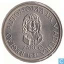 """Madeira 25 escudos 1981 """"Autonomy of Madeira - João Zarco"""""""