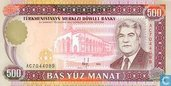 Turkmenistan 500 Manat