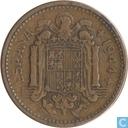 Spanje 1 peseta 1944