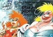Comics - Titia en Pijpelijn - Scharrelvarkens en zwijnerij