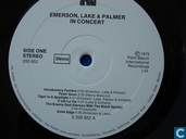 Platen en CD's - Emerson, Lake & Palmer - Emerson, Lake & Palmer in concert