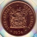 South Africa 1 cent 1974