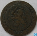 Pays Bas 2½ cents 1883