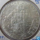 """Austria 100 schilling 1975 (shield) """"1976 Olympics - Innsbruck - Skier"""""""