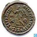 Romeinse Keizerrijk Siscia AE3 Kleinfollis van Keizer Valens 367-375