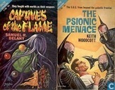 Boeken - Woodcott, Keith - Captives of the Flame + The Psionic Menace