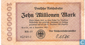 Berlin (Reichsbahn) 10 million Mark