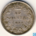 Canada 10 cents 1896