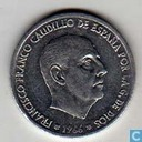 Spain 50 centimos 1967