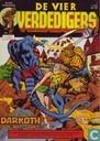 Comic Books - Fantastic  Four - De komst van Darkoth... de demon des doods!