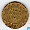 Italie 200 lire 1982