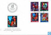 Stained Glass 1971 FDC