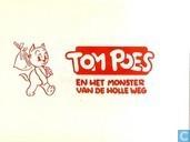 Strips - Bommel en Tom Poes - Tom Poes en het monster van de holle weg