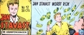 Comic Books - Jan Stavast - Jan Stavast wordt rijk