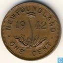 Newfoundland 1 cent 1942