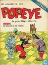 Comic Books - Popeye - De schat in de troon