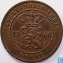 Dutch East Indies 1 cent 1856