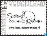 Postzegels - Nederland [NLD] - Stichting Konijnen Belangen 1 - SKB