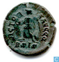 Romeinse Keizerrijk Siscia AE4 Kleinfollis van Keizer Valentinianus II 384-387