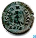 Roman Empire Siscia AE4 Kleinfollis of Emperor Valentinian II 384-387