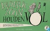 Comic Books - Vader & Zoon [Van Straaten] - Vader & Zoon houden vol