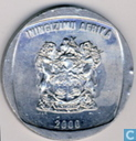South Africa 5 rand 2000