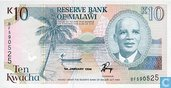 Malawi 10 Kwacha 1994