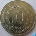 Joegoslavië 10 dinara 1978