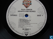 Vinyl records and CDs - Simon, Paul - Hearts and bones