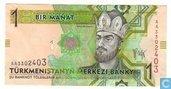 Turkmenistan Manat 1