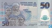 Nigeria 50 Naira 2009 (P40a1)