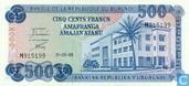Burundi 500 Francs 1988
