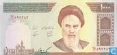 Iran 1,000 Rials ND (1992-) P143b