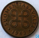 Finlande 1 penni 1963