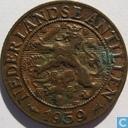 Netherlands Antilles 1 cent 1959