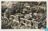 Centraal Ziekenhuis. Luchtfoto K.L.M.
